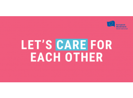 Let's care for each other