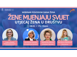 WEBINAR: Žene mijenjaju svijet – Utjecaj žena u društvu