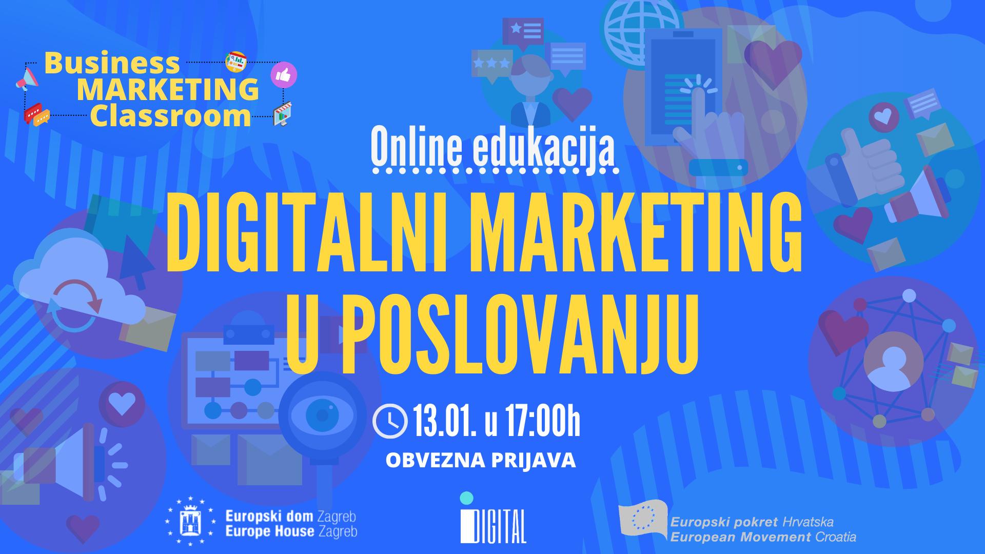 Online edukacija: Digitalni marketing u poslovanju